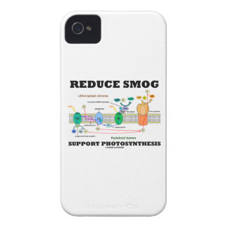 Reduce Smog Support Photosynthesis iPhone 4 Case-Mate Cases