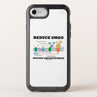 Reduce Smog Support Photosynthesis Light Dependent Speck iPhone Case