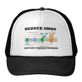 Reduce Smog Support Photosynthesis Trucker Hat