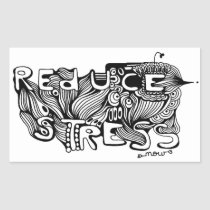 reduce, stress, challenges, life, worthwhile, changing, habits, contemplate, whisper, hand drawn, believe, unnecessary, eliminated, eliminating, think, eliminate, sources, words, Sticker with custom graphic design