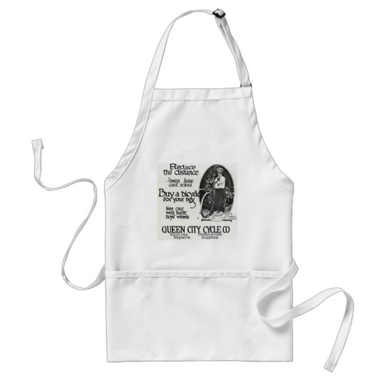 Reduce the Distance 'tween Home and School Adult Apron