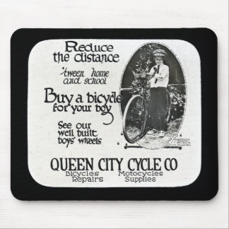 Reduce the Distance 'tween Home and School Mouse Pad