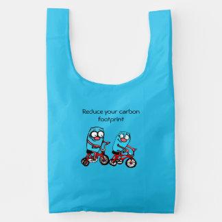 Reduce your carbon footprint reusable bag