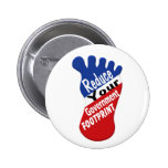 Reduce Your Government Footprint 2 Inch Round Button