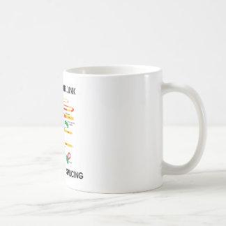 Reduce Your Junk Support Gene Splicing (RNA Humor) Coffee Mug