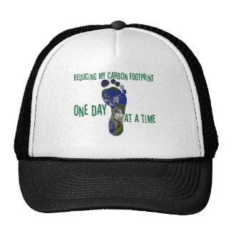 Reducing my carbon footprint hat