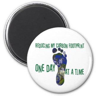 Reducing my carbon footprint magnet