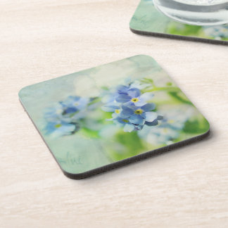 """Reductor """"blue jump """" drink coaster"""