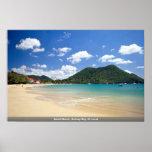 Reduit Beach, Rodney Bay, St. Lucia Print