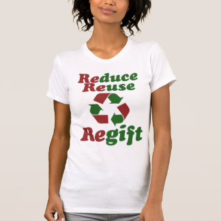 Reduzca el navidad divertido de Regift de la Tee Shirt