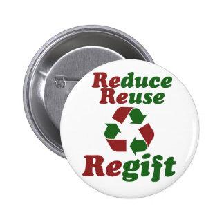 Reduzca el navidad divertido de Regift de la reuti Pin