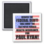 ¡Reduzca la deuda federal! Imán Para Frigorifico