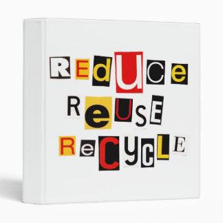 """Reduzca la reutilización reciclan 1"""" álbum de foto"""