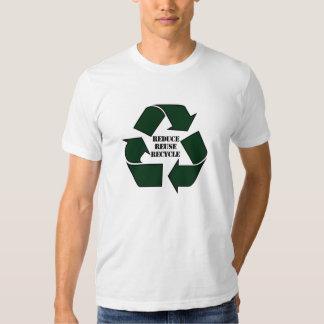 Reduzca la reutilización reciclan a Twofer de las Polera