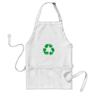 Reduzca la reutilización reciclan delantales