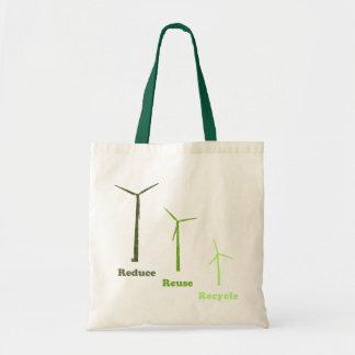 Reduzca la reutilización reciclan el bolso reutili bolsas