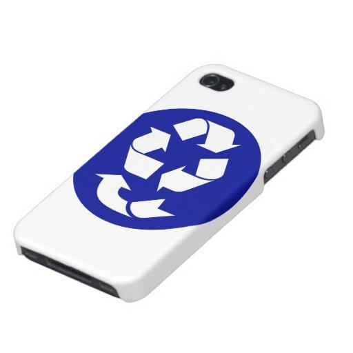 Reduzca la reutilización reciclan recuperan el iPhone 4/4S funda