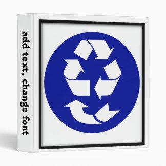 Reduzca la reutilización reciclan recuperan el sím