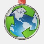 Reduzca la reutilización reciclan reserva el Día d Adorno Para Reyes