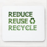 Reduzca la reutilización reciclan tapetes de ratón