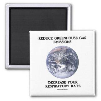 Reduzca las emisiones de gases de efecto invernade imán de nevera