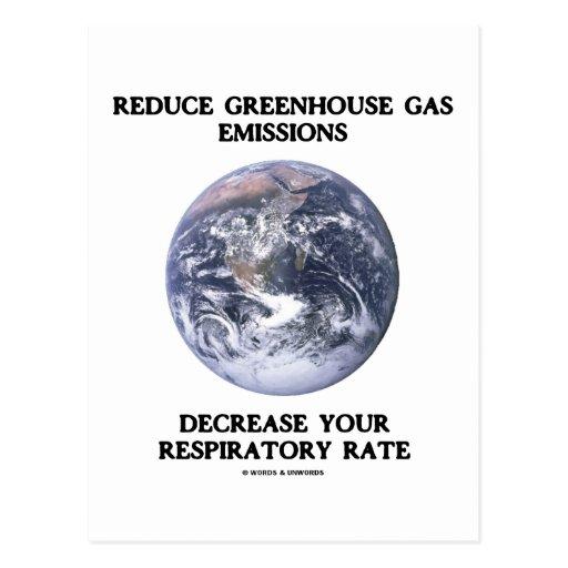 Reduzca las emisiones de gases de efecto invernade postal