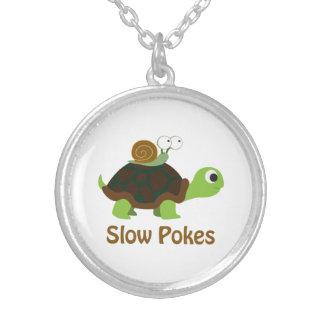 Reduzca los empujes - tortuga y caracol lindos joyerías