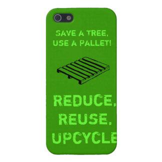 Reduzca, reutilice, caso del iPhone de Upcycle iPhone 5 Funda