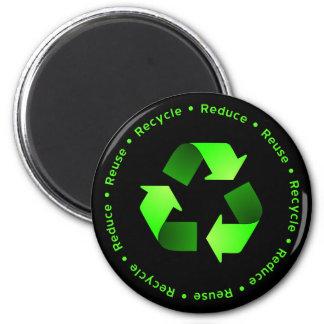 Reduzca, reutilice, recicle el imán
