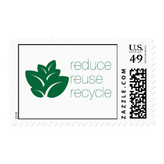 Reduzca, reutilice, recicle sellos