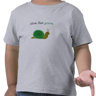 Redúzcase pero póngase verde camisetas