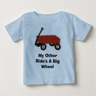 redwagon, una rueda grande de mi otro paseo tshirt