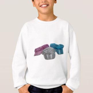 RedWhiteBlueDiscoHats100211 Sweatshirt