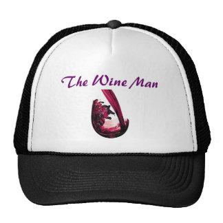 redWine, The Wine Man Trucker Hat