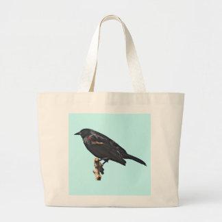 Redwing Blackbird Gift Tote Bags