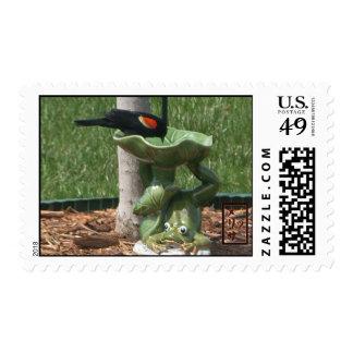 Redwing Blackbird Stamps