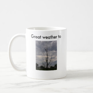 redwing_clouds, redwing_clouds, stay home and d... coffee mug