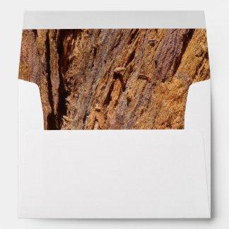 Redwood Bark Envelope