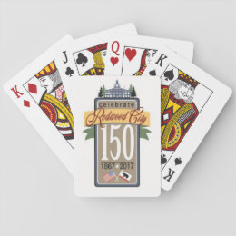 Redwood City 150th Anniversary Playing Cards