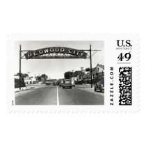 Redwood City 150th Anniversary Postage