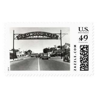 Redwood City 150th Anniversary Postage