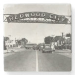 Redwood City 150th Anniversary Stone Coaster<br><div class='desc'>Happy 150th anniversary Redwood City! This is a year to celebrate the best of Redwood City. The City of Redwood City will be hosting a series of sesquicentennial events that will bring together our community, rediscover our history, honor our diversity and explore our neighborhoods. This store is a marketplace to...</div>