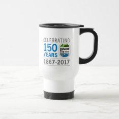 Redwood City 150th Anniversary Travel Mug at Zazzle