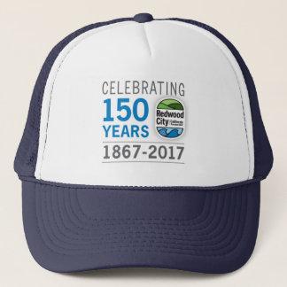 Redwood City 150th Anniversary Trucker Hat