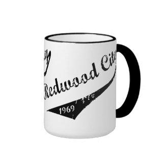 Redwood City 1969 Ringer Mug