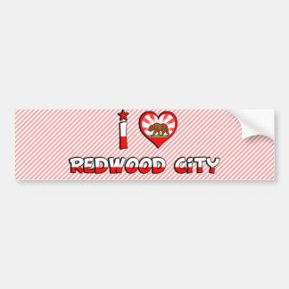 Redwood City, CA Bumper Sticker