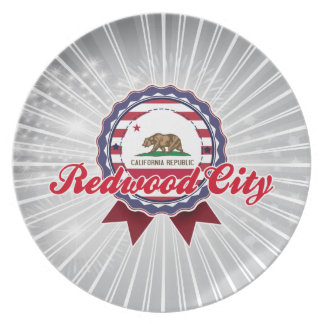 Redwood City, CA Plate