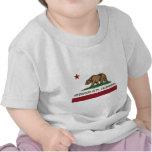 redwood city california flag shirt