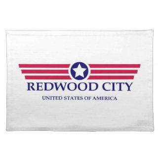 Redwood City Pride Cloth Place Mat