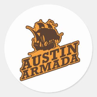 Redwood City Raider Under 6 Classic Round Sticker